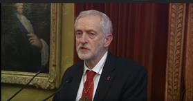 Video: Jeremy Corbyn receives the MacBride Peace Prize
