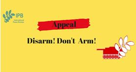 Appeal Disarm! Don't Arm!