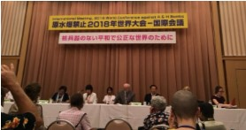 Declaration of the International Meeting, 2018 World Conference against A and H Bombs