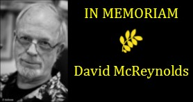 David McReynolds has left us