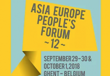 Asia Europe People's Forum´s Declaration