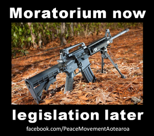 New Zealand: Call for urgent moratorium on semi-automatic weapons