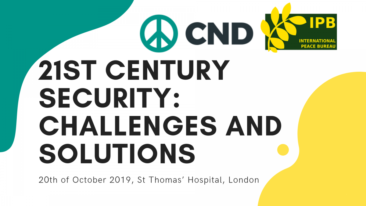 CND & IPB Conference – 21st century security: challenges and solutions