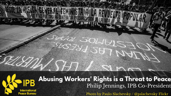 Abusing Workers' Rights is a Threat to Peace: IPB Reacts to the 2020 ITUC Global Rights Index (EN/FR)