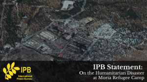 IPB Statement on the Moria Refugee Camp