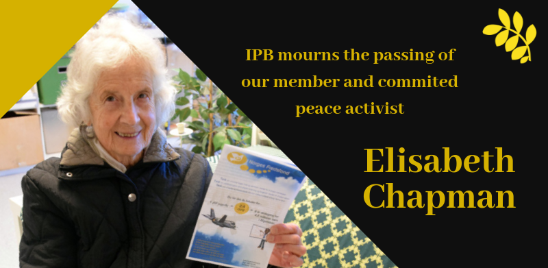 IPB mourns the passing of Elisabeth Chapman