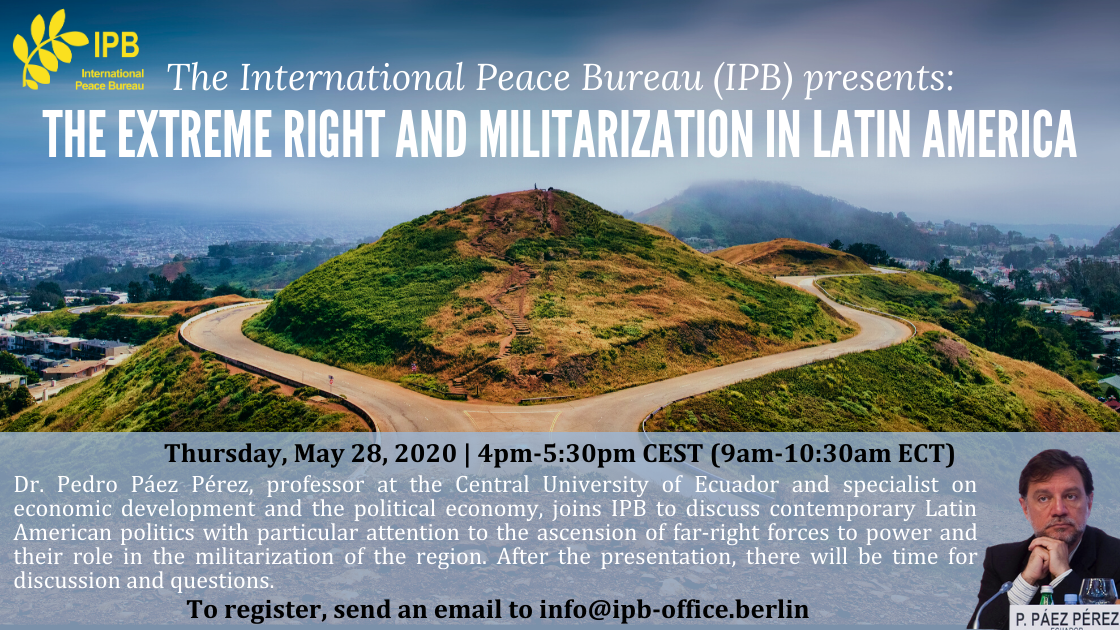 Webinar on The Extreme Right and Militarization in Latin America