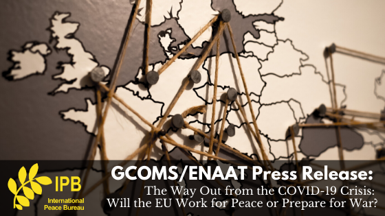 GCOMS/ENAAT Press Release: Fund Peace, Not Arms Dealers