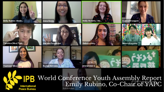 World Conference Youth Assembly Report