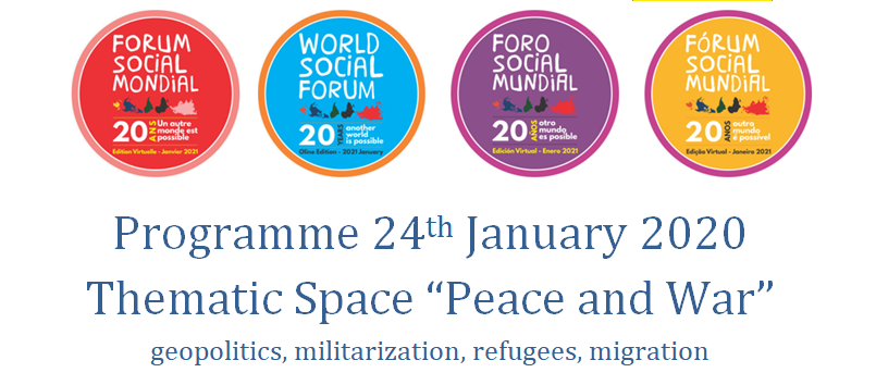 World Social Forum 2021 Peace Day