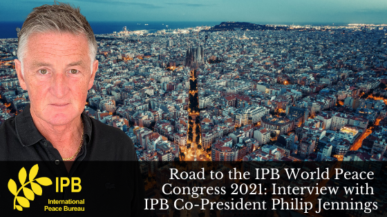 Road to Barcelona 2021: Interview with Philip Jennings