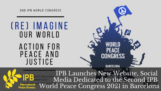 IPB Launches World Peace Congress Pages