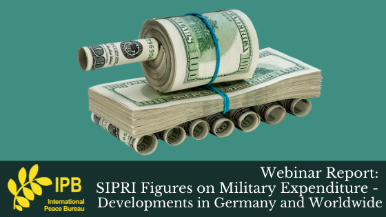 Webinar Report: SIPRI Figures on Military Expenditure